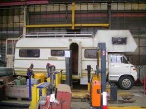 Hangar Camping Car sixenroute - leonie, coup de coeur pour un vieux camping-car